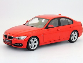 BMW 3er (F30) 335i year 2012 red 1:18 Welly