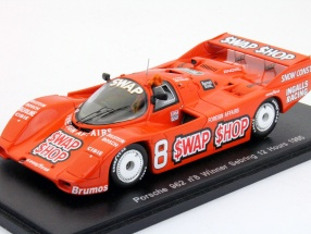 Porsche 962 #8 Winner 12h Sebring 1985 B. Wollek, A.-J. Foyt 1:43 Spark