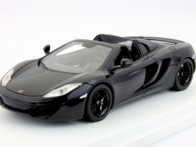 McLaren MP4-12C Spider LHD Year 2012 carboxylic black 1:43 TrueScale