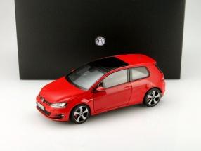Volkswagen VW Golf VII GTI Year 2013 red 1:18 Norev