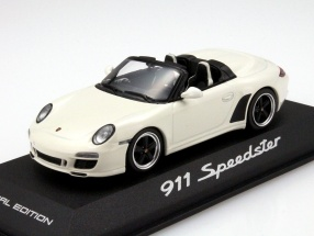 Porsche 911 (997) Speedster built in 2010 white 1:43 Minichamps