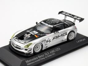 Mercedes-Benz SLS AMG GT3 #96 6h Zhuhai 2011 Häkkinen / Arnold 1:43 MInichamps