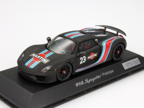 Porsche 918 Spyder Prototype #23 Martini Racing 1:43 Spark