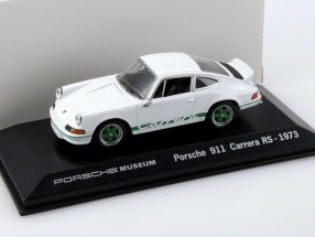 Porsche 911 Carrera RS Year 1973 white 1:43 Welly
