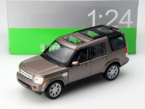 Land Rover Discovery Year 2010 brown metallic 1:24 Welly