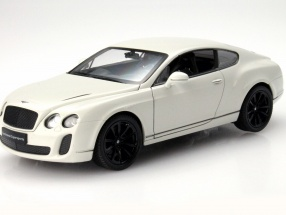 Bentley Continental Supersports Year 2011 white 1:24 Welly
