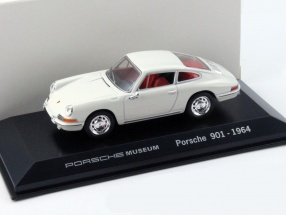 Porsche 901 Year 1964 white Porsche Museum Edition 1:43 Welly