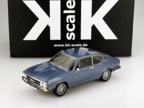 Audi 100 Coupe S Baujahr 1970 blau metallic 1:18 KK-Scale