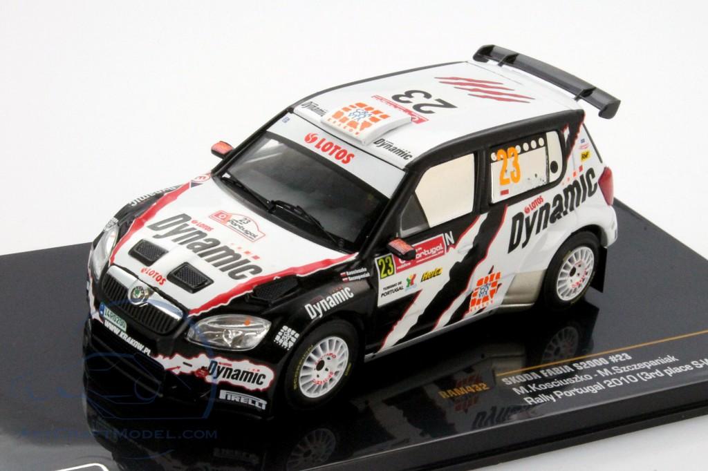 Skoda Fabia S2000 #23 3rd S-WRC Rally Portugal 2010