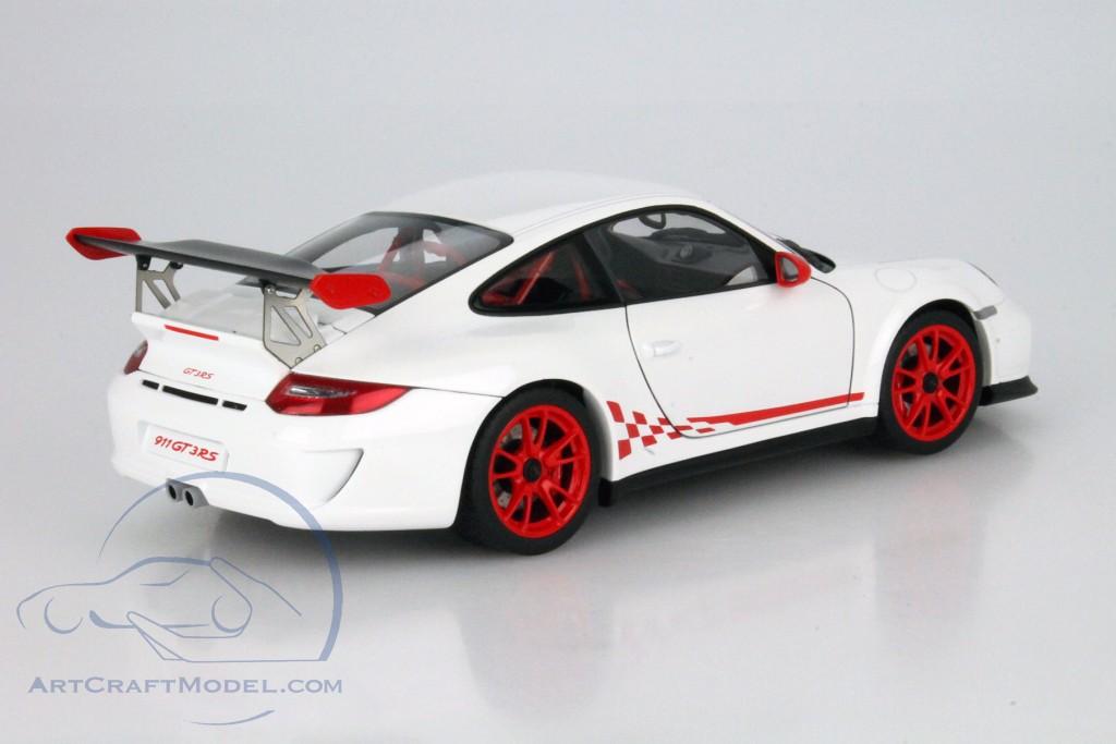 Porsche 911 997 Gt3 Rs 3 8 Year 2010 White Red 78143 Ean 674110781434