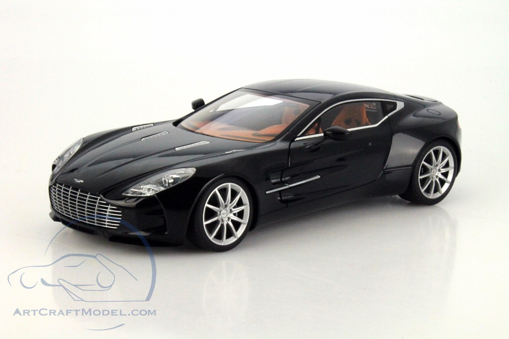 ... Aston Martin One 77 Year 2009 Black Metallic ...
