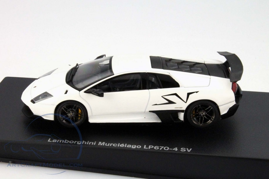 Lamborghini Murcielago Lp670 4 Sv Year 2009 White 54628 Ean