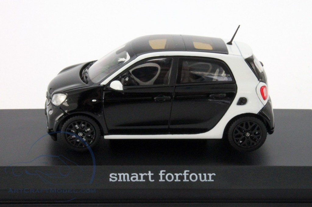 smart forfour w453 white black b66960296. Black Bedroom Furniture Sets. Home Design Ideas