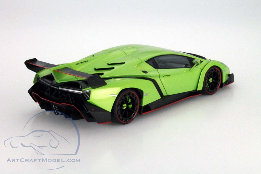 Lamborghini Veneno Year 2013 Green Metallic 74509 Ean