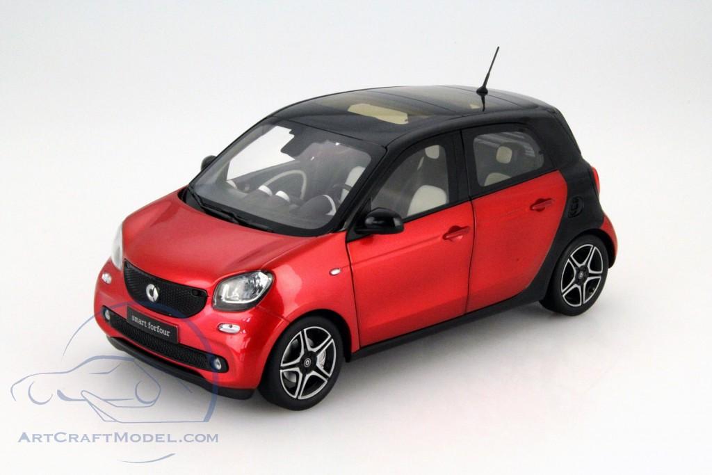 smart forfour coupe w453 black red b66960300. Black Bedroom Furniture Sets. Home Design Ideas