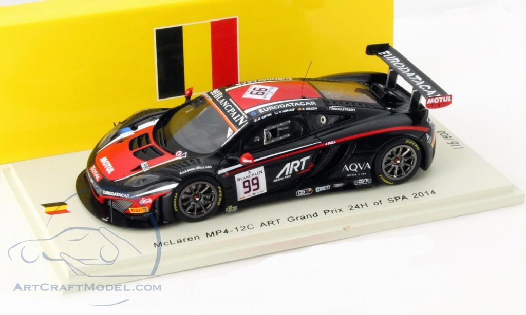 McLaren MP4-12C #99 24h Spa 2014 ART Grand Prix