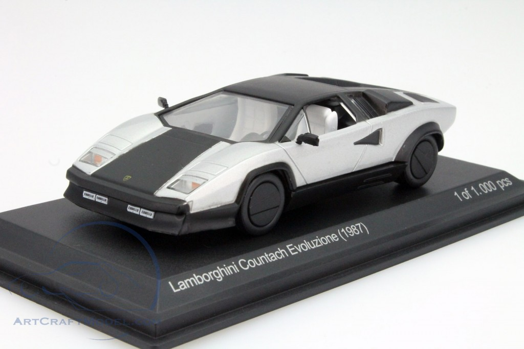 lamborghini countach evoluzione year 1987 silver black. Black Bedroom Furniture Sets. Home Design Ideas