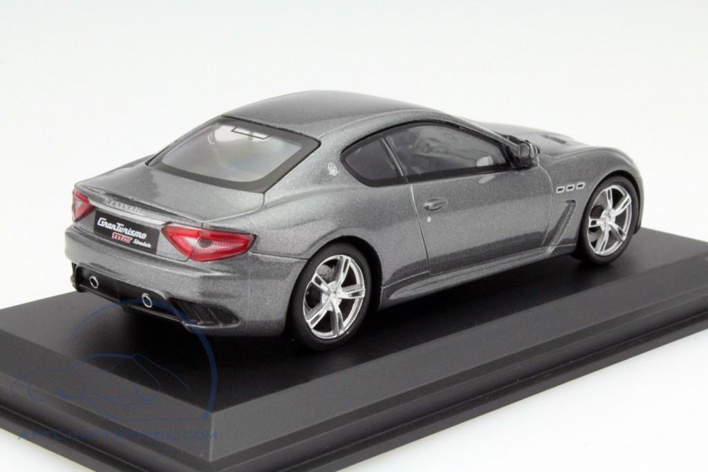 Maserati Granturismo Mc Stradale 2010 Metallic Dark Grey 1:43 WhiteBox WBS040