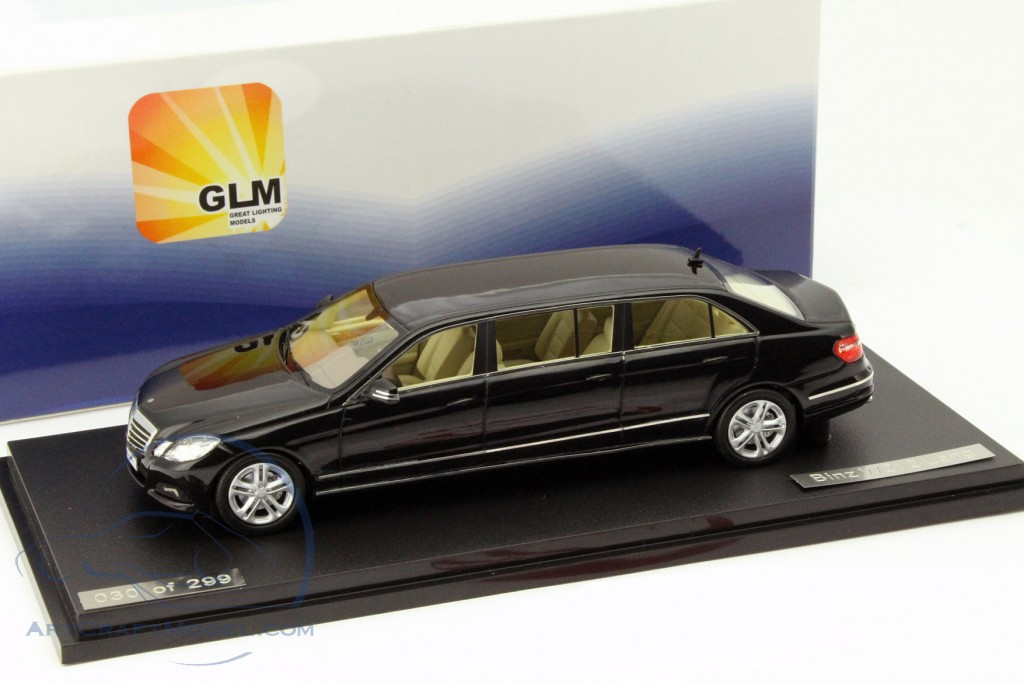 Mercedes Benz W 212 Binz E Class Long Year 2012 Black Glm
