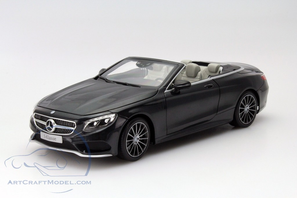 mercedes benz s klasse cabriolet a217 baujahr 2015 schwarz metallic b66960354. Black Bedroom Furniture Sets. Home Design Ideas