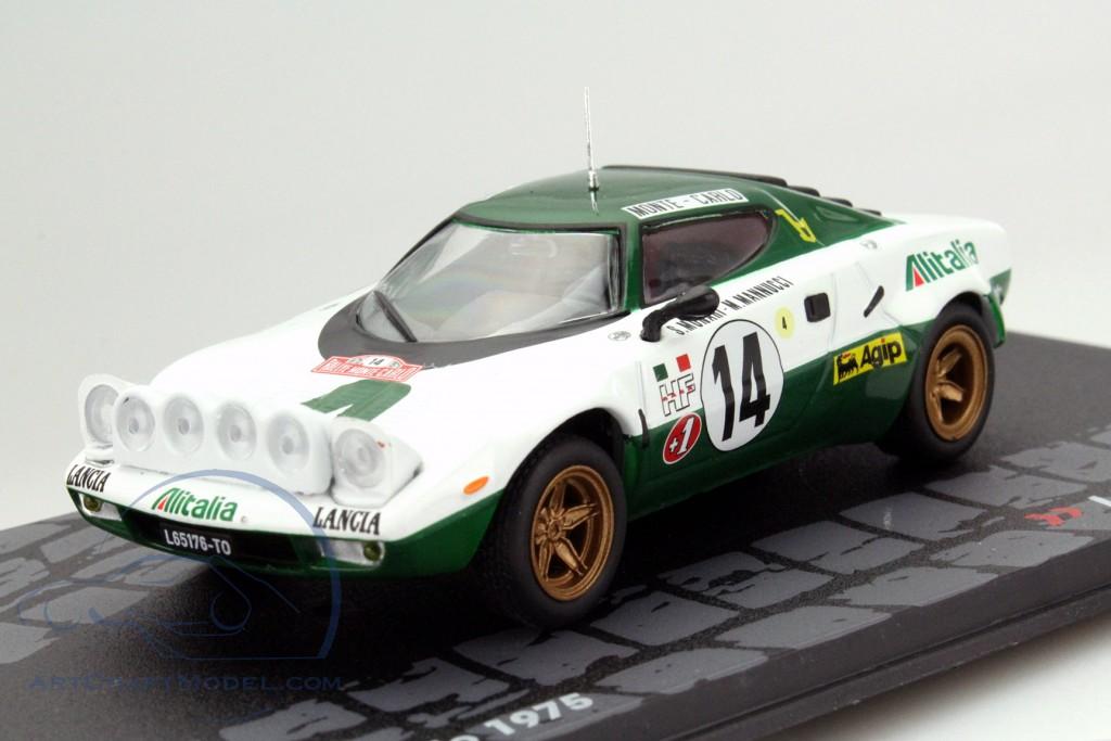 lancia stratos hf #14 rallye monte carlo 1975 munari, mannucci - mag