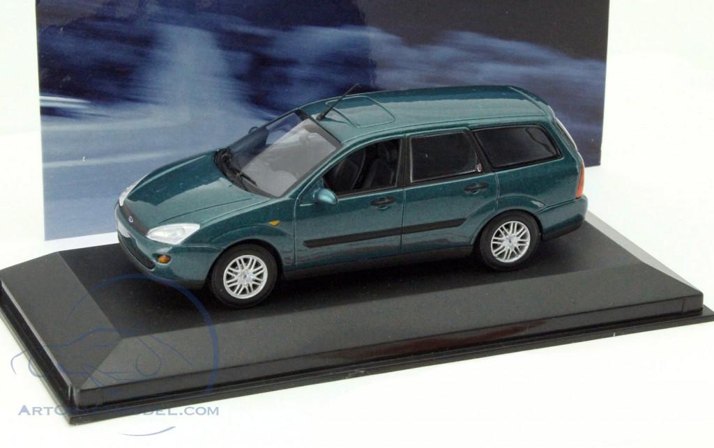 Ford Focus Kombi Green Metallic
