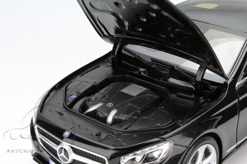 mercedes benz s klasse coupe baujahr 2014 schwarz 183482. Black Bedroom Furniture Sets. Home Design Ideas