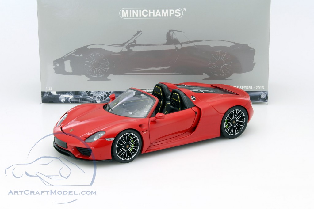 porsche 918 spyder year 2013 red 110062435 ean. Black Bedroom Furniture Sets. Home Design Ideas
