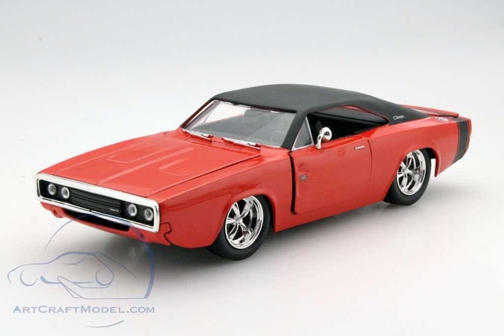 dodge charger r t year 1970 red jada toys 97593 ean 801310975930. Black Bedroom Furniture Sets. Home Design Ideas