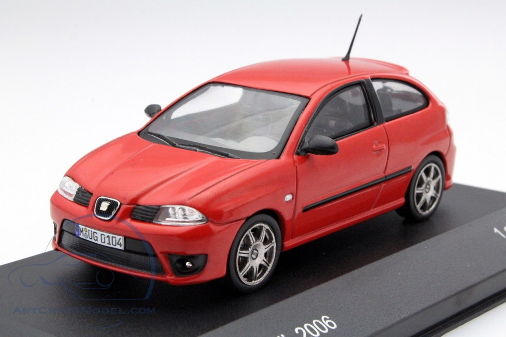 seat ibiza cupra tdi year 2006 red wb218 ean 213278. Black Bedroom Furniture Sets. Home Design Ideas