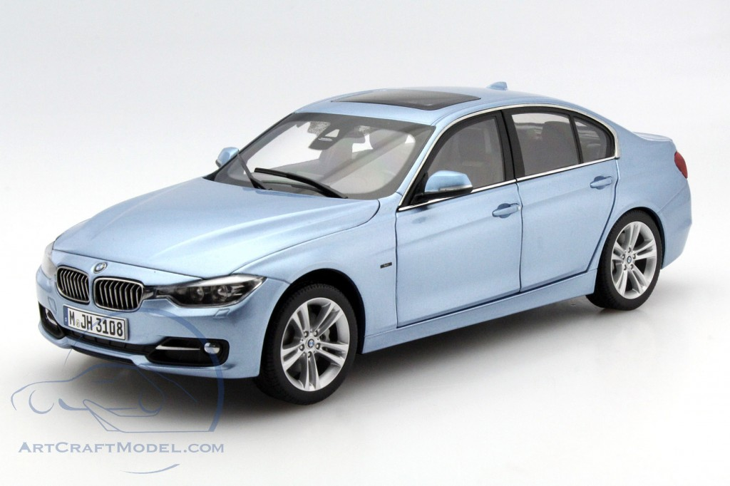 bmw 3 series f30 baujahr 2012 liquid blau 97026 ean. Black Bedroom Furniture Sets. Home Design Ideas