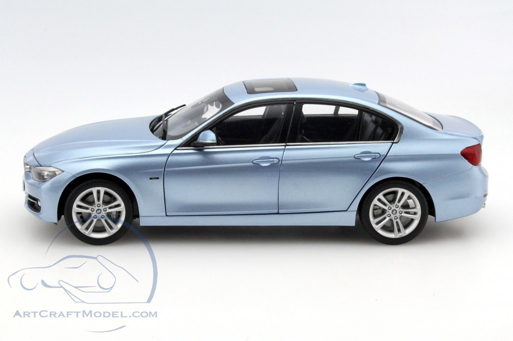 bmw 3 series f30 year 2012 liquid blue 97026 ean. Black Bedroom Furniture Sets. Home Design Ideas