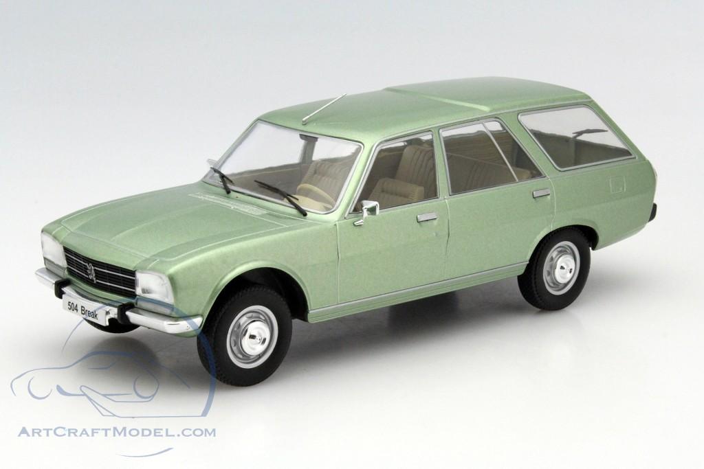 peugeot 504 break lime metallic model car group