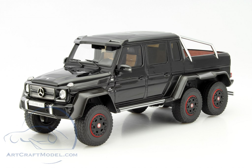 Mercedes benz g63 amg 6x6 black zm069 ean 9580010301638 for Mercedes benz amg 6x6 price