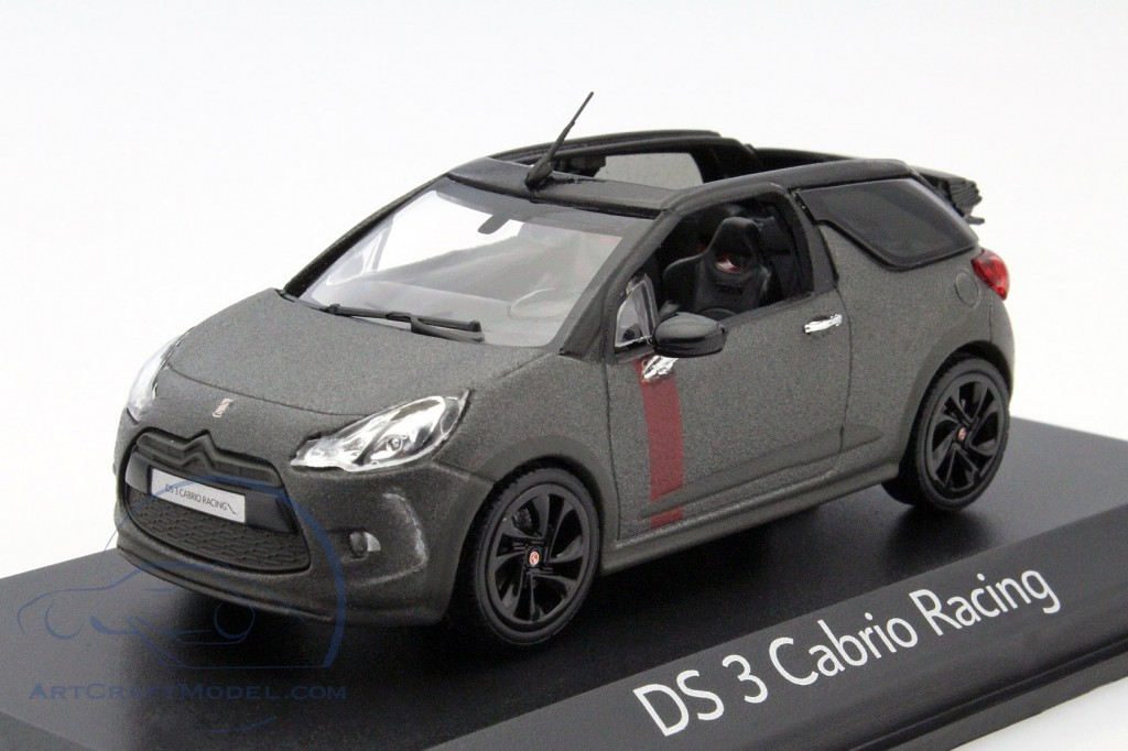 citroen ds3 cabriolet racing year 2014 mat gray black amco19486 ean 3551090194867. Black Bedroom Furniture Sets. Home Design Ideas