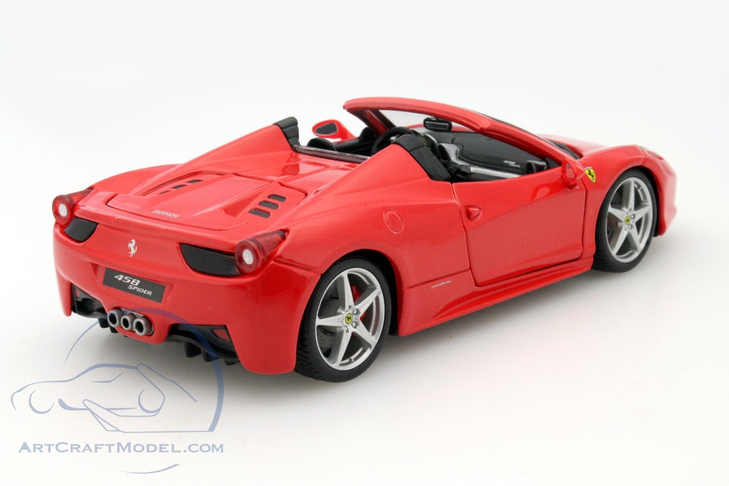 ferrari 458 spider rot 15626017 ean 4893993260171. Black Bedroom Furniture Sets. Home Design Ideas