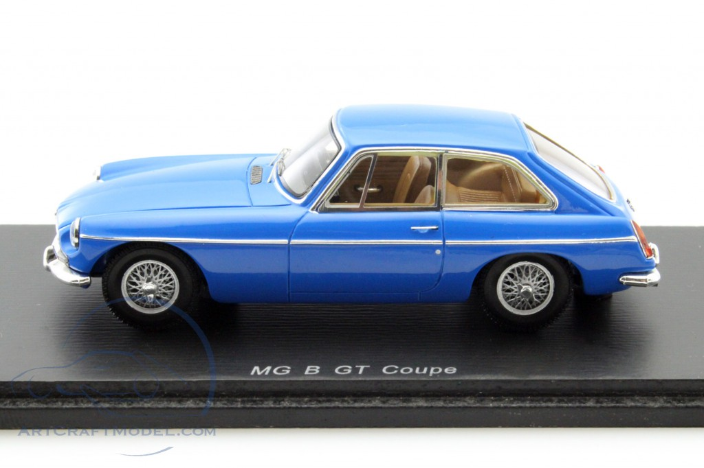 Mg Mgb Gt Coupe 1967 Blue Spark 1:43 S4140