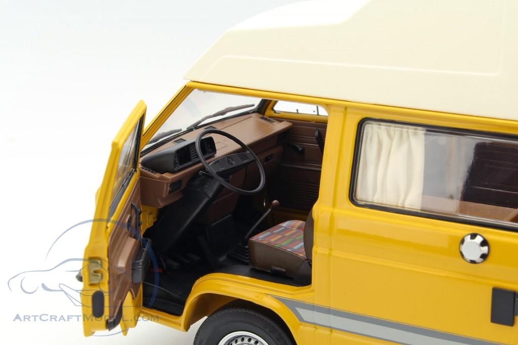 volkswagen vw t3 joker campingbus mit hochdach gelb. Black Bedroom Furniture Sets. Home Design Ideas
