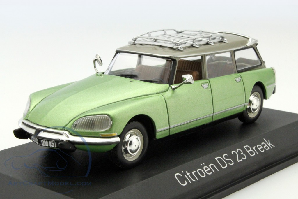 citroen ds 23 break year 1974 green 155044 ean 3551091550440. Black Bedroom Furniture Sets. Home Design Ideas
