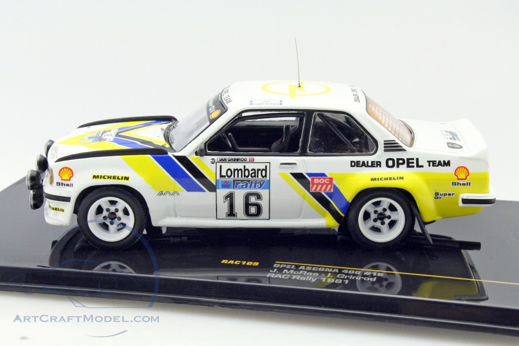 James Bond 007 Mercedes 450 SEL For your eyes only 1:43 Scale