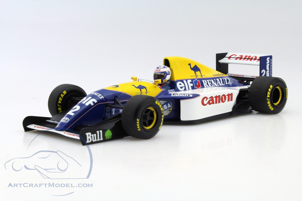 alain prost williams fw15c 2 weltmeister formel 1 1993 186930002 ean 4012138092068. Black Bedroom Furniture Sets. Home Design Ideas