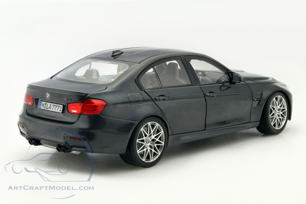 bmw m3 f80 competition year 2016 mineral gray 80432411554 ean 80432411554. Black Bedroom Furniture Sets. Home Design Ideas