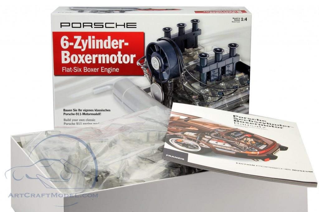 porsche 911 6 zylinder boxermotor baujahr 1966 bausatz. Black Bedroom Furniture Sets. Home Design Ideas