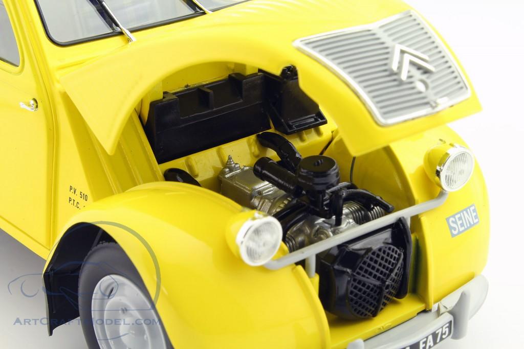 citroen 2cv fourgonnette berliet baujahr 1956 gelb