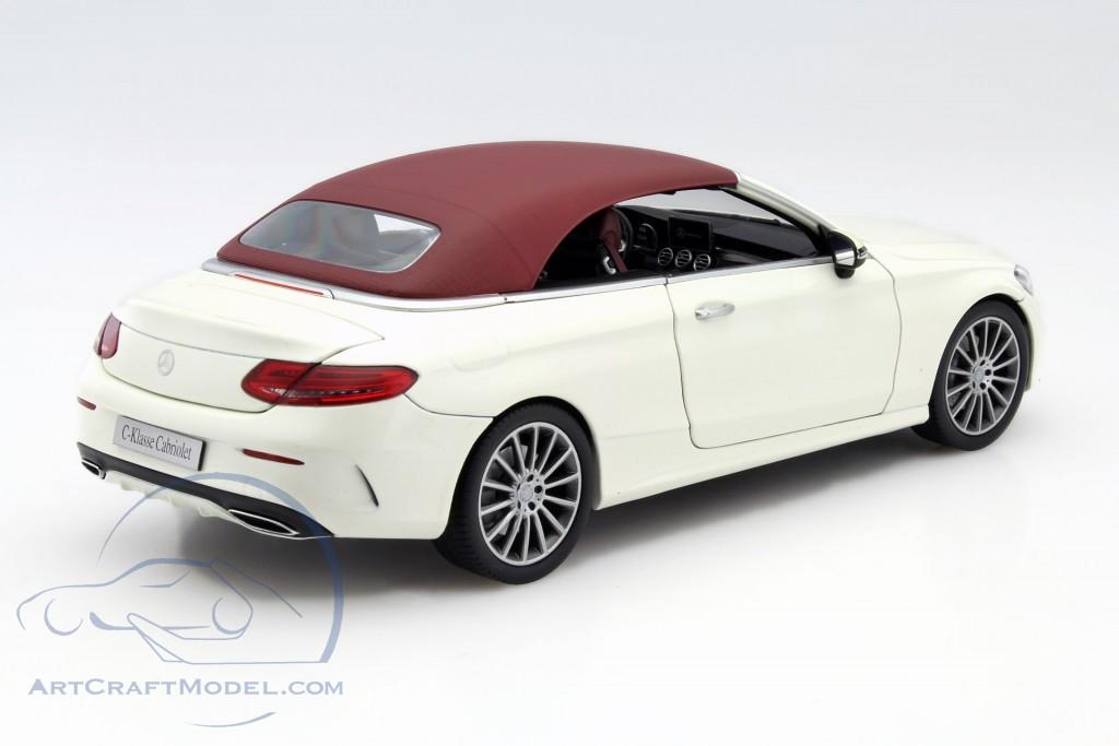 Mercedes benz c class cabriolet a205 diamond white for Mercedes benz c class white