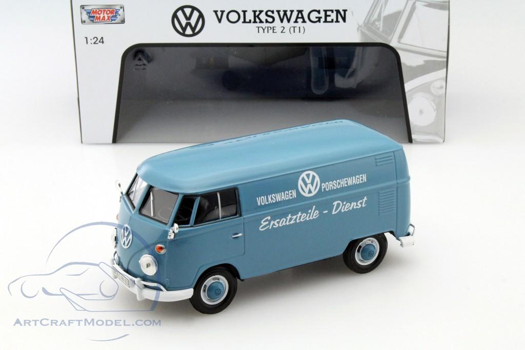 Volkswagen VW Type 2 T1 Spare parts service blue