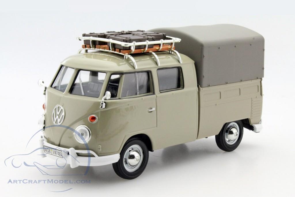 volkswagen vw type t1 pick up khaki 79553 ean 661732795536. Black Bedroom Furniture Sets. Home Design Ideas