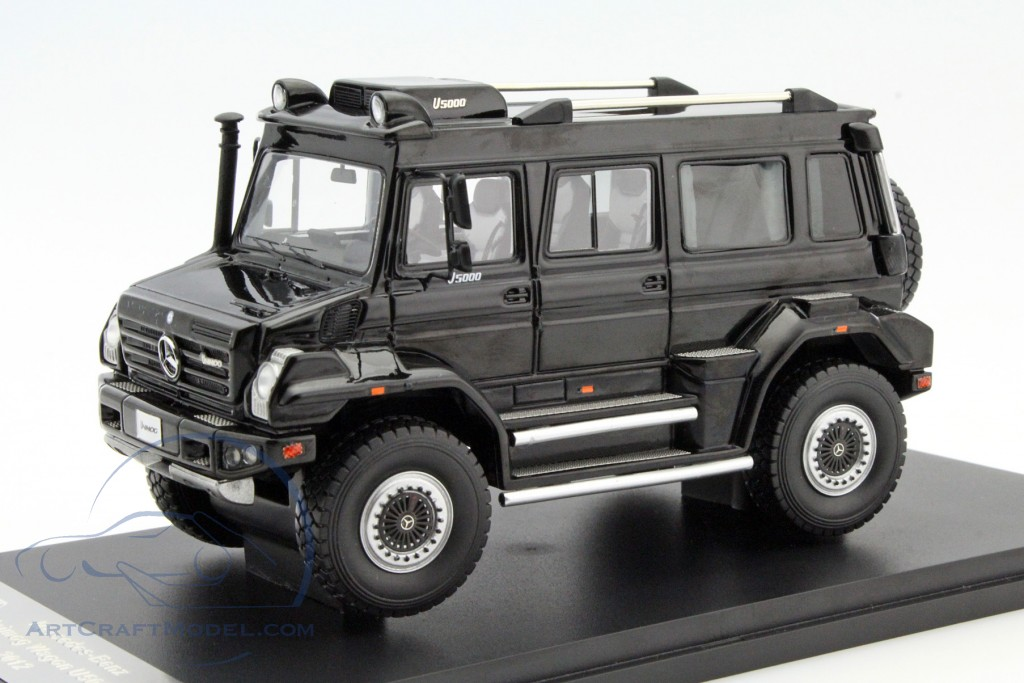 Mercedes Benz Unimog Wagon U5000 Year 2012 Black Matrix