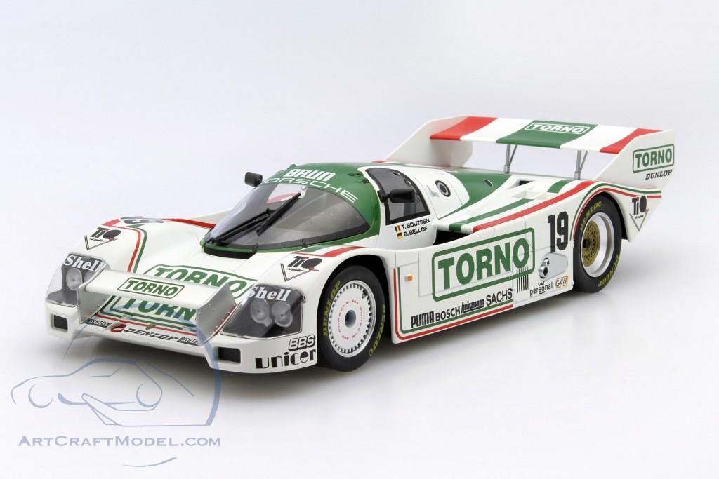 1:18 Norev Porsche 962C #19 1000km Mugello Bellof//Boutsen 1985 Torno
