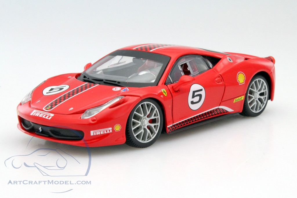 ferrari 458 challenge 5 rot 26302r ean 4893993263028. Black Bedroom Furniture Sets. Home Design Ideas